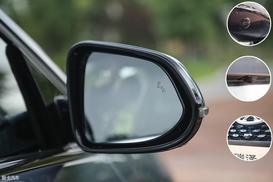 对于这个级别的车型来说,奇瑞艾瑞泽GX配备了非常丰富的安全辅助功能。在车身四周我们都能发现全景摄像头的身影,并且并线辅助也加入到了奇瑞艾瑞泽GX的配置表中。