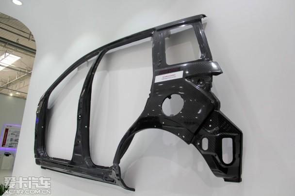 碳纤维概念车身结构
