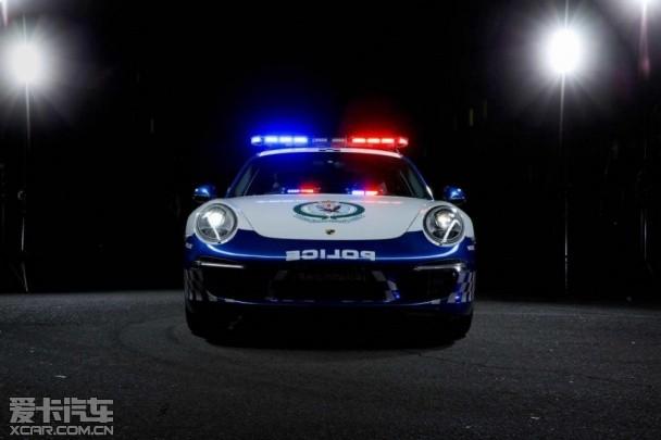 保时捷911 Carrera警车