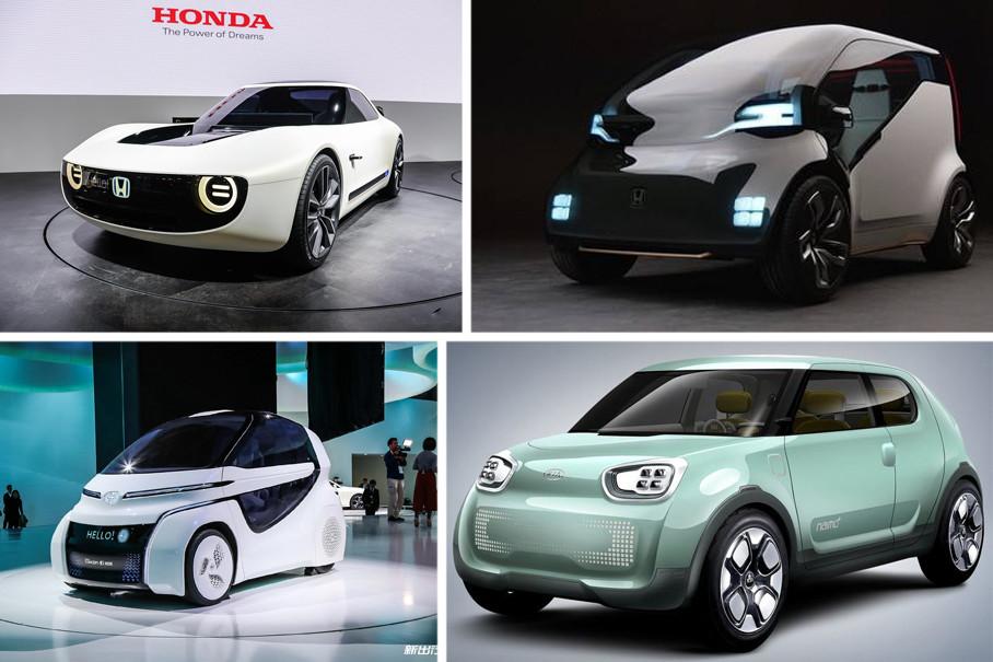 日韩品牌的新能源造型设计有两个方向,其中一类是小巧、可爱型,此类车型实用性高,造型多为圆润型或者正方形,车身上也多见圆形元素。