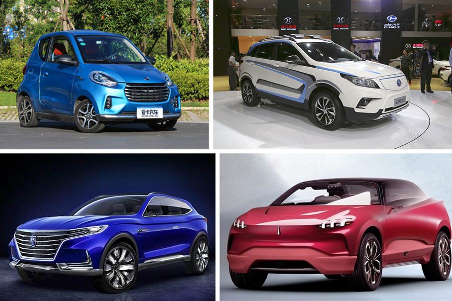中国品牌的新能源车型造型简单,形面变化在多样性、创新性方面略显不足。目前各种类型的汽车都会开发出与其对应的新能源车型,而且造型中还是会保持各自原本具有的造型元素与风格。