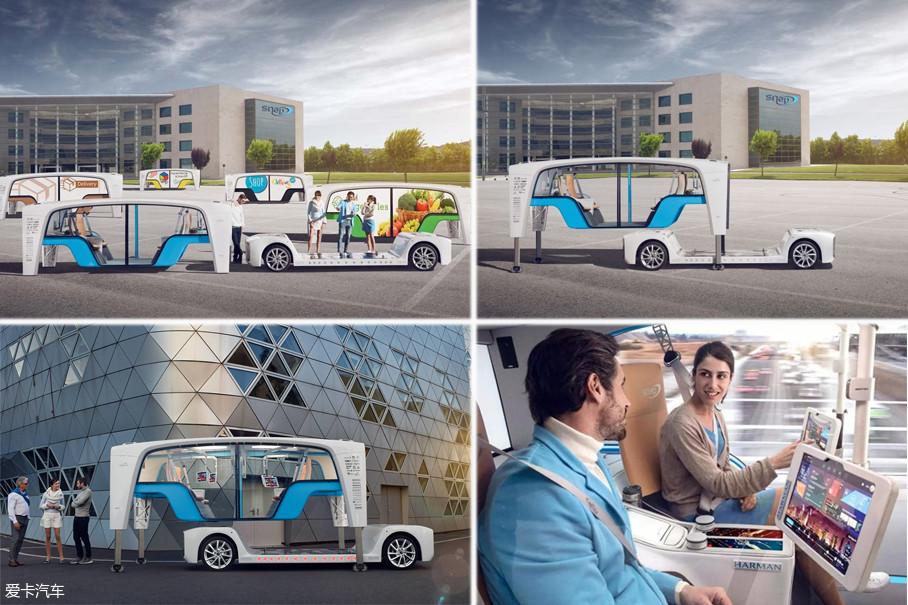 """Snap最特别的是搭载了车体可拆机构,拆卸后的车体有独立的支撑轴。用户可将车体拆下来,让它变成一个观景台,也可将它升高,以满足野餐等各种需求,汽车""""分身术""""就这样来到了我们身边。"""