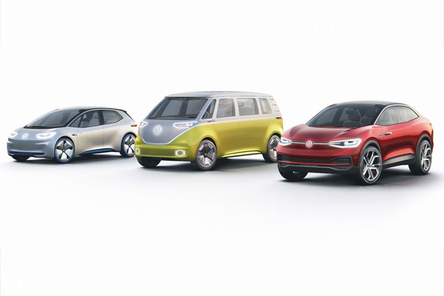2016年巴黎车展发布的大众I.D.概念车、2017年初底特律车展发布的大众I.D. BUZZ概念车,到2017年上海车展上发布的I.D. CROZZ,再到如今的I.D. VIZZION,大众I.D.家族逐渐完善。
