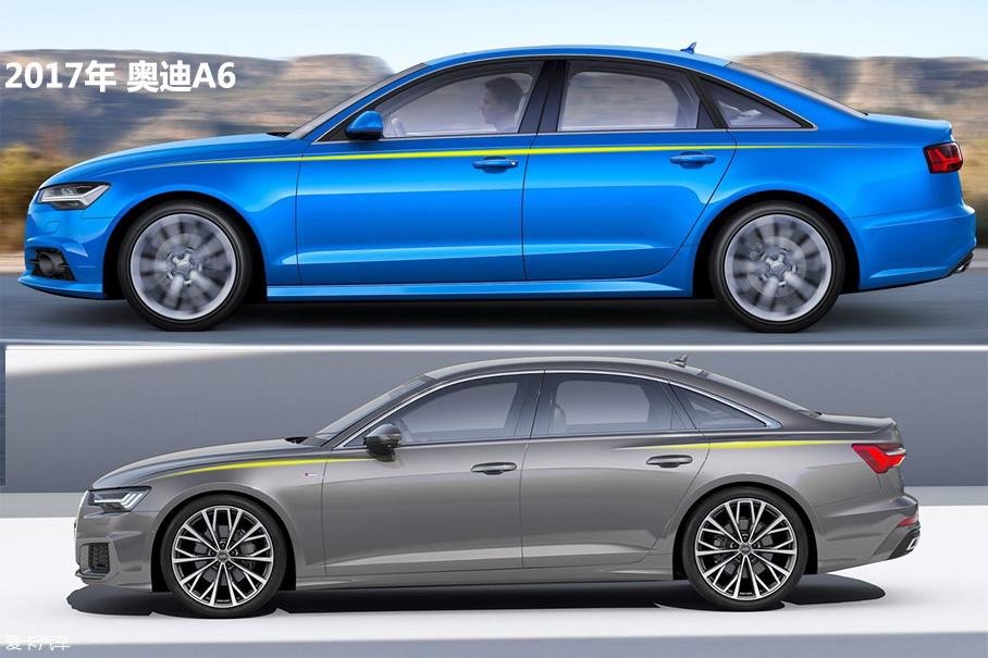 侧面腰线的处理有了颠覆性的变化,采用了前后两条断开式的腰线,新车的后视镜位置相比现款车型有所降低,车尾相对变短,使整车看起来更加年轻、运动。