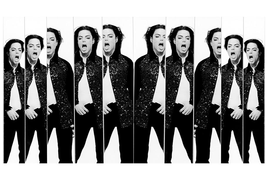 还有在舞蹈中的迈克尔·杰克逊(Michael Jackson),你简直感觉到那画面在动。