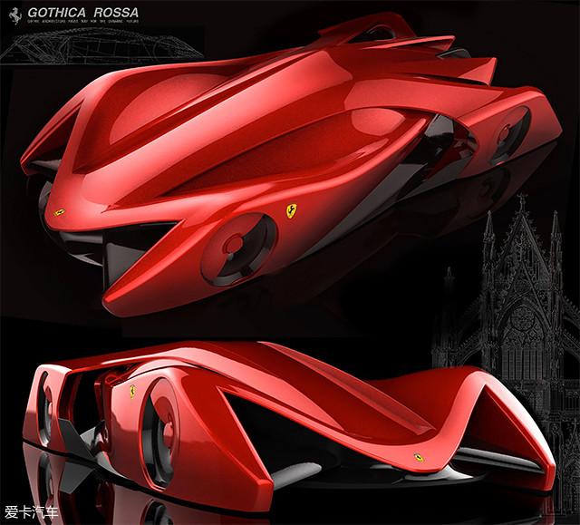 2025年是传奇意大利汽车制造商法拉利成立75周年,为了庆祝这一点,韩国设计师设计了此款大胆、动感、激进的概念车,直观地展示了科幻电影的景象,同时诠释了未来车型的楔形设计语言。