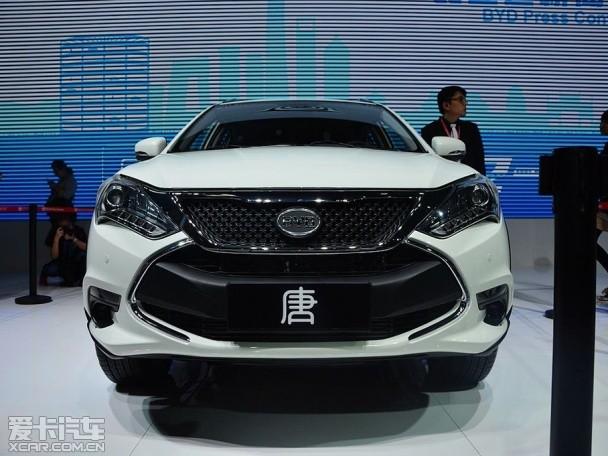 """插电式混合动力""""比亚迪唐""""-环保节能新时代 让我们走近新能源汽车高清图片"""