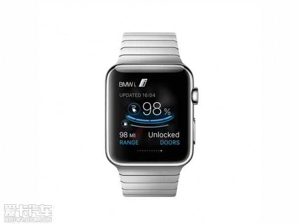 【图文】全新出行理念 当宝马遇上Apple Watch_爱卡汽车