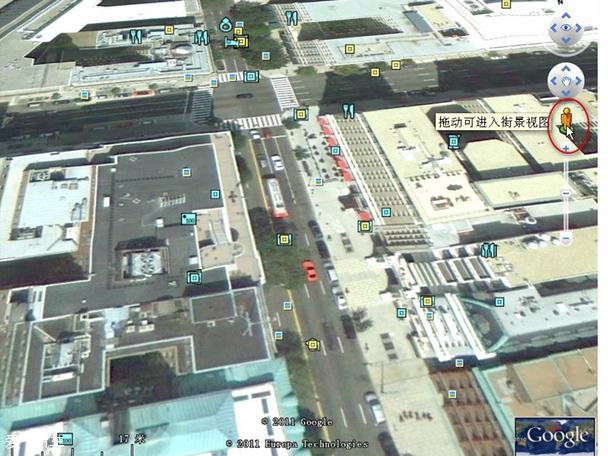 无人驾驶汽车必须要有一个特定的路线,这就需要用到地图导航高清图片