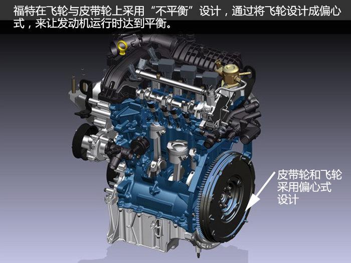 福特1.0T三缸发动机高清图片