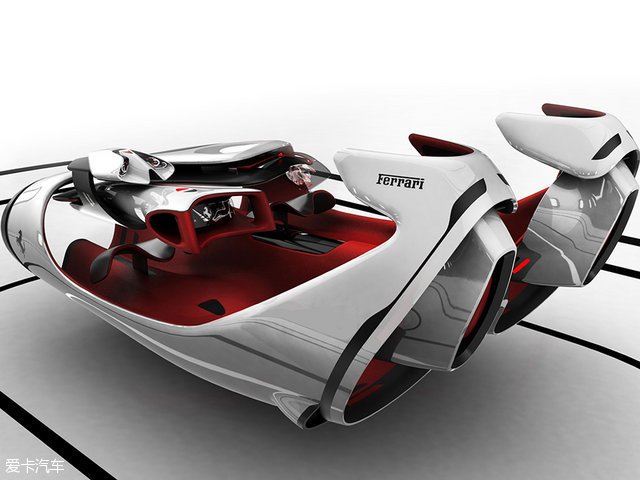 未来超跑 2015法拉利顶级设计学院大奖