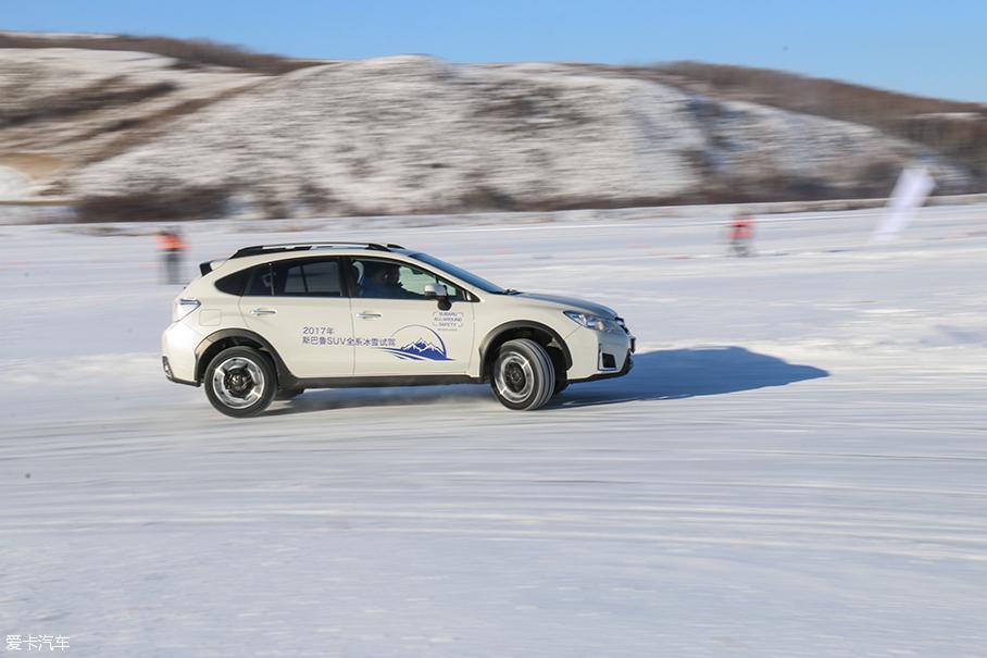 斯巴鲁SUV全系冰雪试驾
