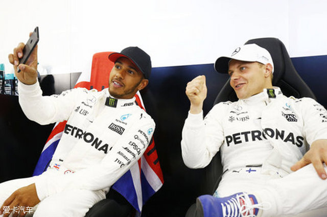 胡蝶喊你看F1