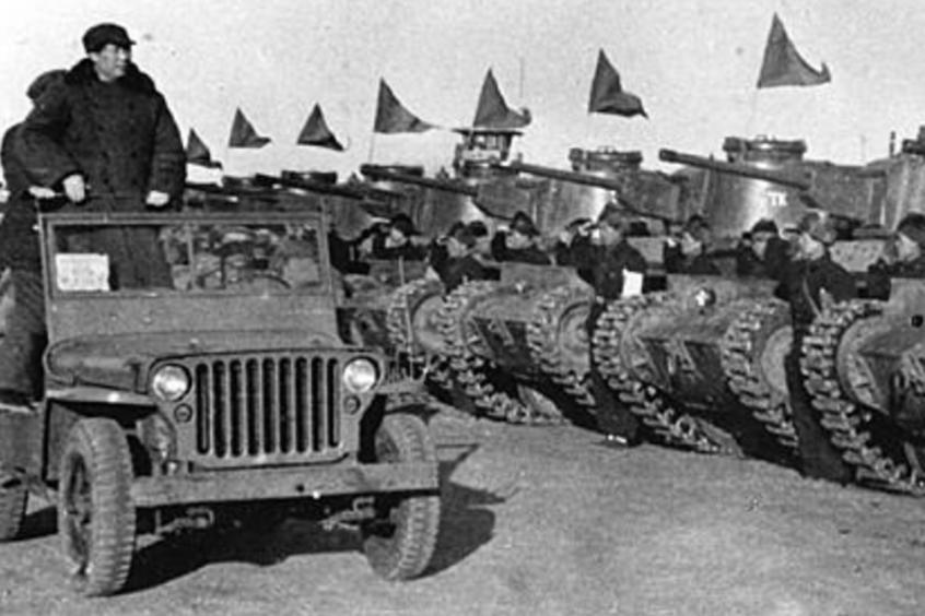 历史上的阅兵车