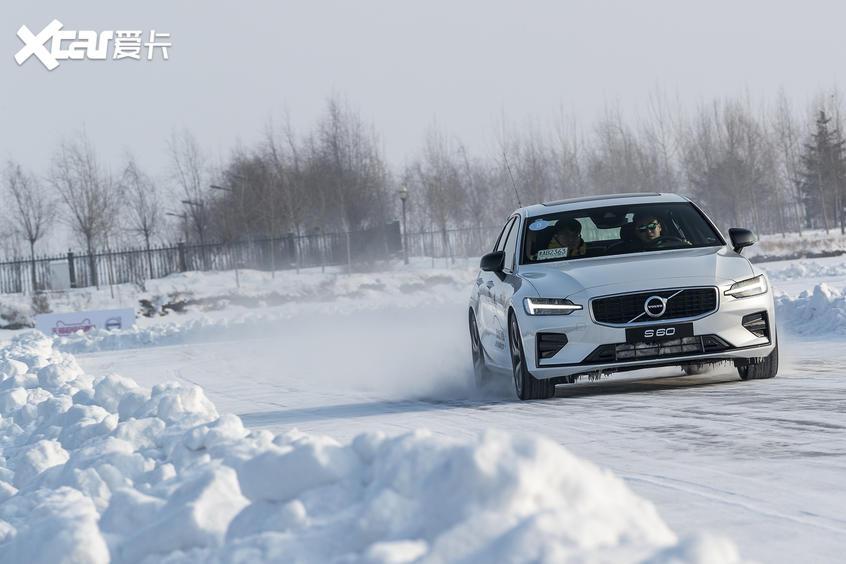 沃尔沃S60冰雪试驾