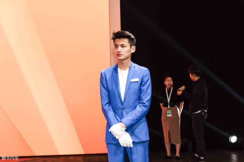 上海车展男模