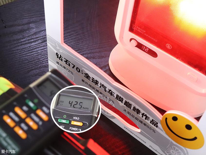 汽车隔热膜;前风挡隔热膜;太阳膜;太阳膜测试;太阳