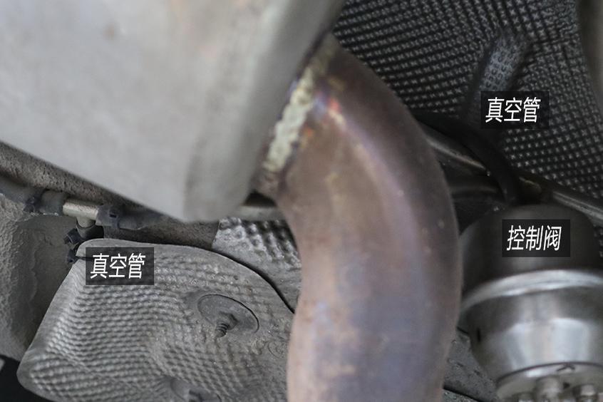 传统真空动力改装可调排气阀门
