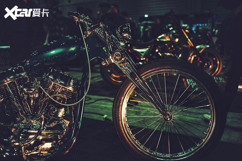 横滨HOT ROD定制改装展