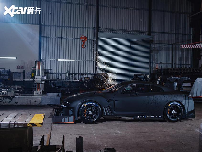 GT-R爬山赛改装案例