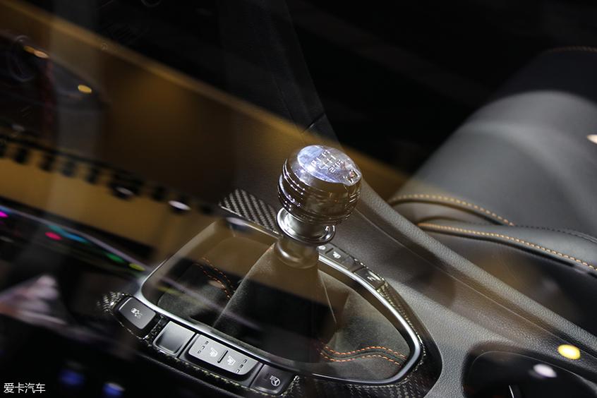 上海车展换挡杆盘点