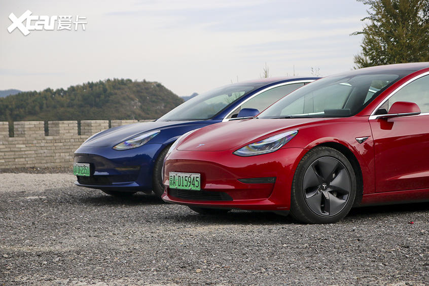 试驾特斯拉Model 3 V10.0