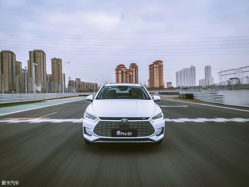 比亚迪;秦Pro EV;天津V1汽车世界;赛道体验