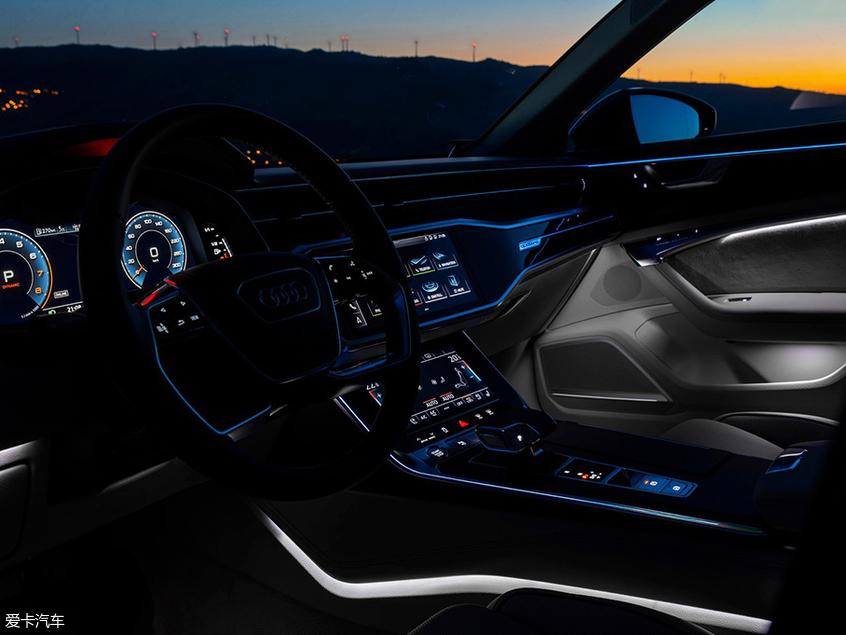 一汽-大众奥迪;全新A6L;科技解析;大灯;虚拟座舱;