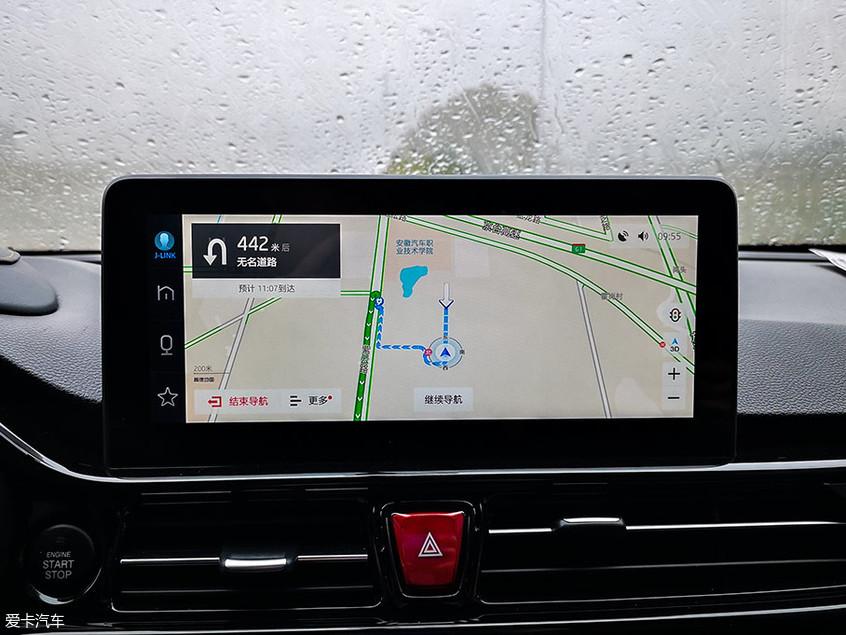 江淮瑞风S4;车机系统;智能互联;科大讯飞;高德地图