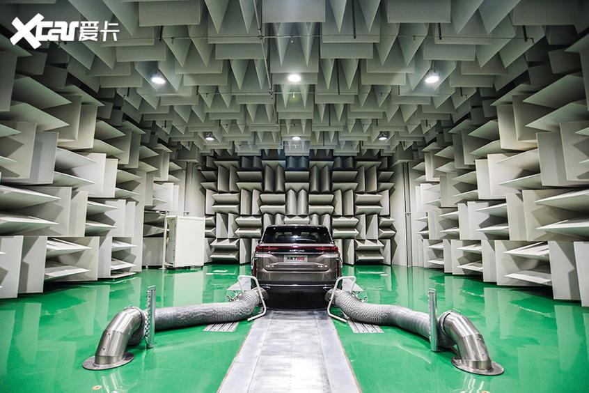 奔腾T99 NVH实验室