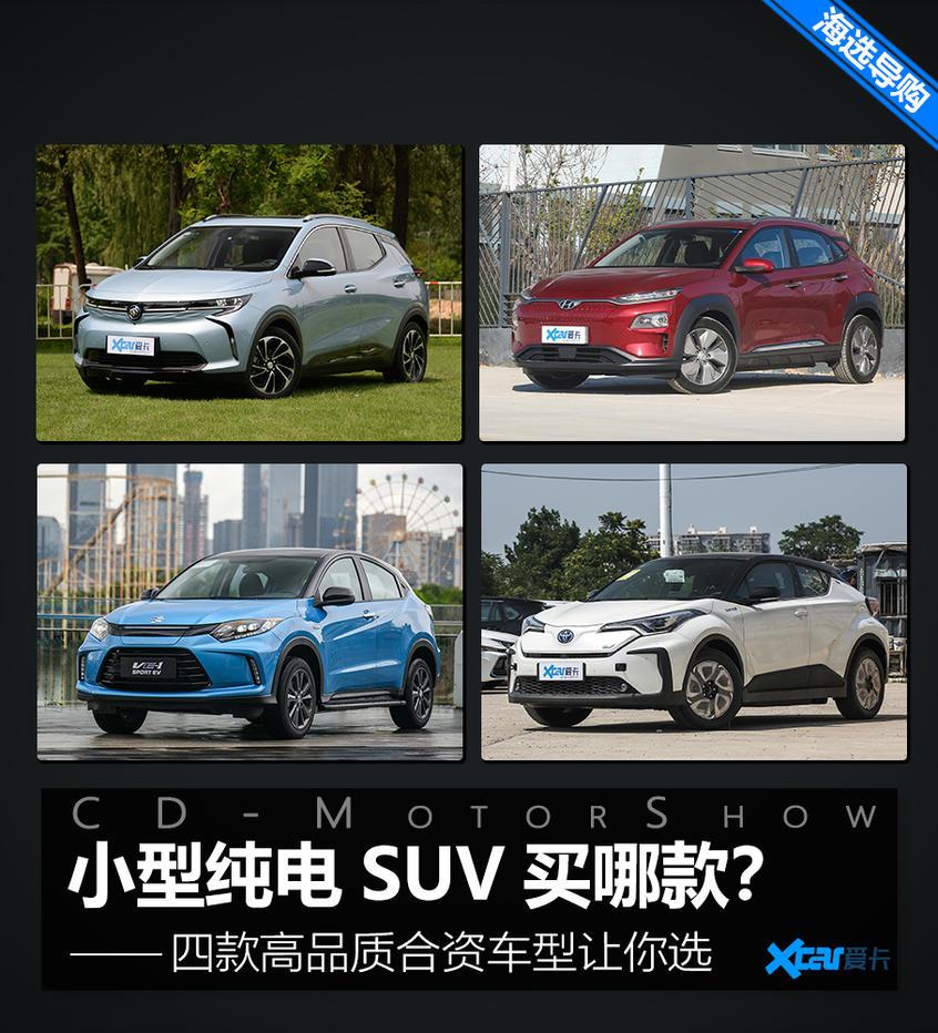 小型合资纯电SUV海选