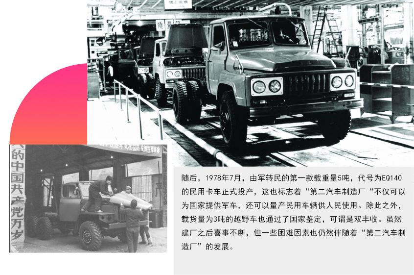 建国70周年之东风汽车