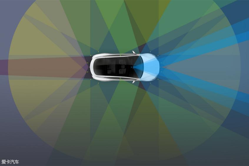 特斯拉自动驾驶硬件