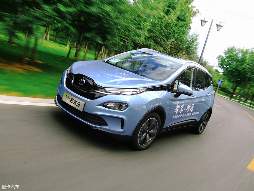 北汽新能源EC5/EX3试驾体验;北汽新能源