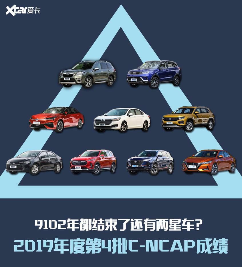 9102年都结束了还有两星车?C-NCAP第四批车型评测结果