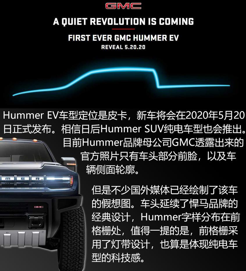 悍马纯电动皮卡;Hummer EV
