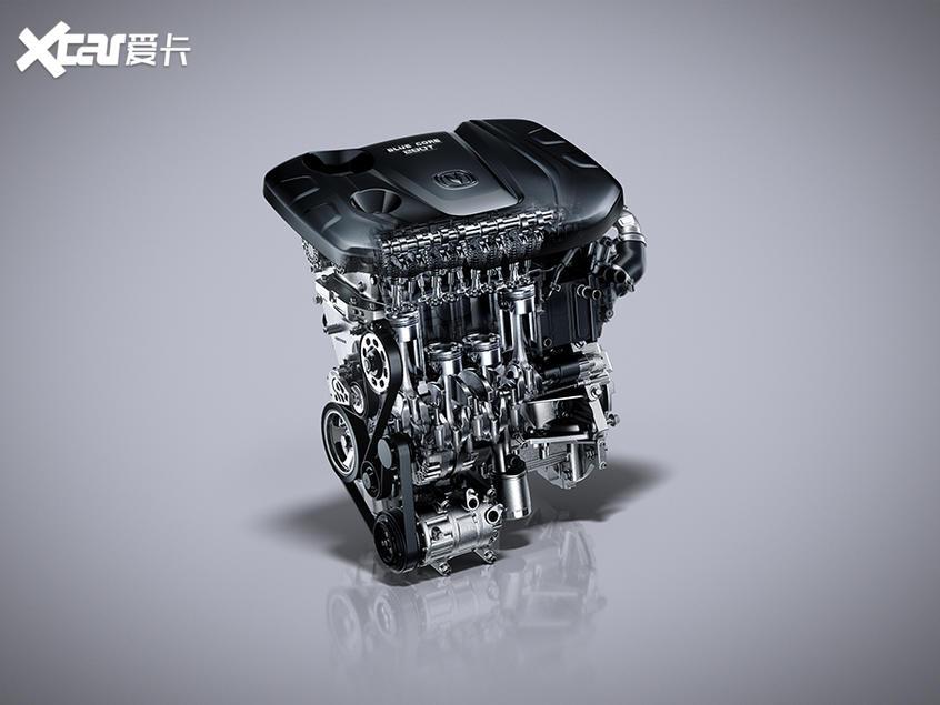 长安蓝鲸1.4T发动机