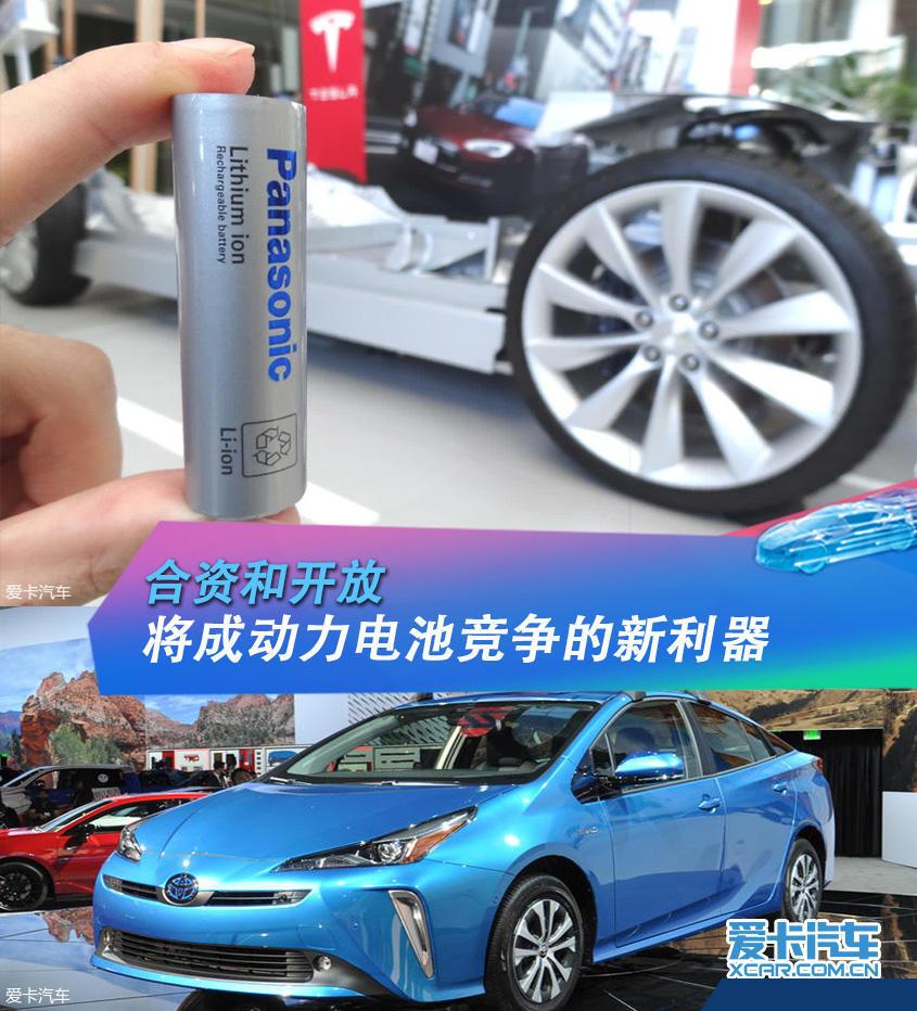 丰田与松下组建电池合资公司