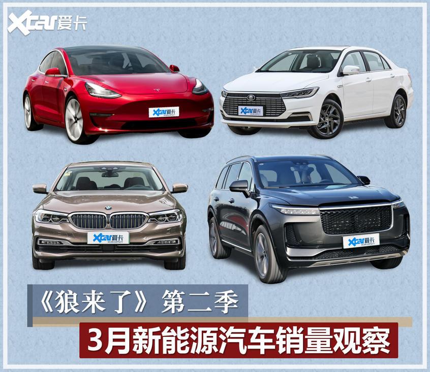 3月新能源车销量观察