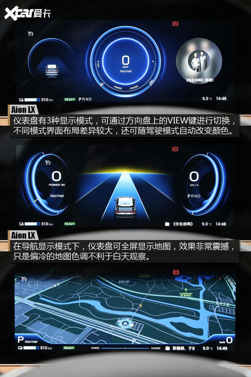 Aion LX科技体验