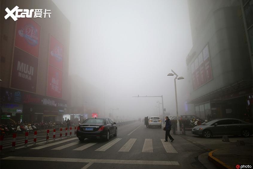 冬季车内起雾