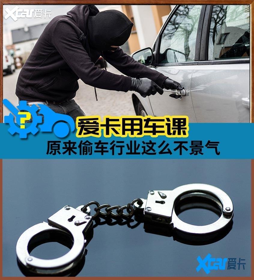 偷车现象越来越少?偷车贼:我好难啊!