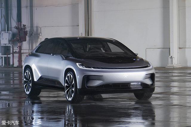 图解Faraday Future新车型FF 91