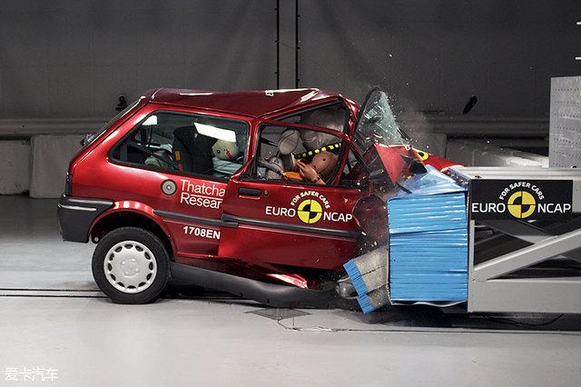中美欧的碰撞测试有何区别?