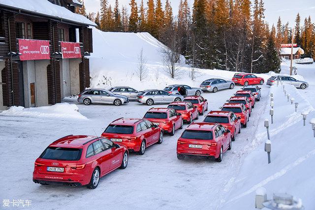 冰雪试驾奥迪S4 Avant