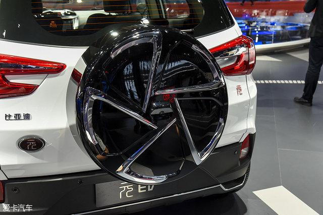2017上海车展 比亚迪元EV静态评测