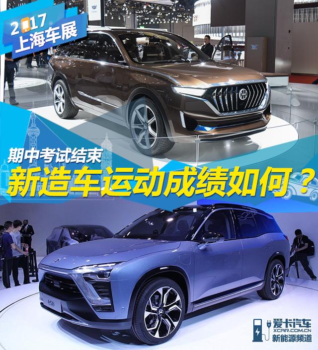 从上海车展看新造车运动的现状