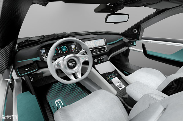 解析观致Model K-EV概念车