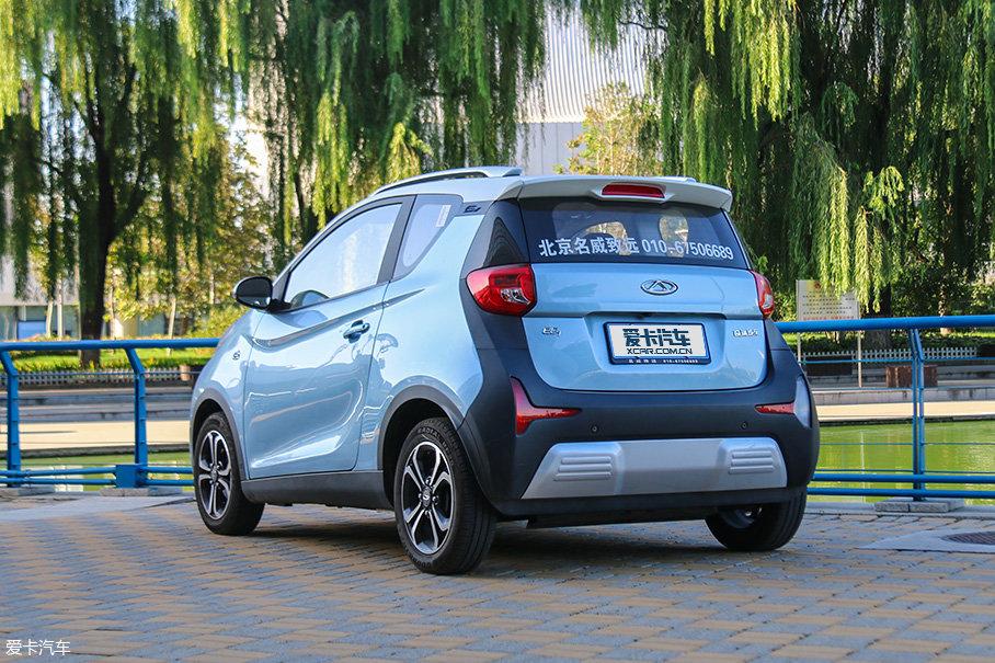 评测奇瑞eQ1电动汽车