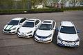 爱卡对比测试四款纯电动汽车